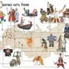 Псков станет «родиной» русалок на «Сказочной карте России»