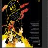 «451 градус по Фаренгейту» Рэя Брэдбери представлен в виде комикса