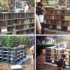 Библиотека в парке своими руками