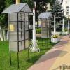 Новые домики для путешествующих книг у драмтеатра в Калуге