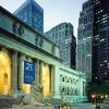 Терпение и Стойкость охраняют книги в Нью-Йорке