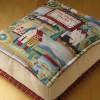 Оригинальная идея подушки для любителей читать