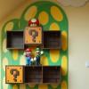 Книжная полка для любителей игры Mario