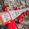 15-метровую вышитую книгу создали на Украине