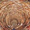 «Tower of books» — бесконечный тоннель из книг