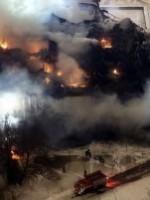 Библиотека ИНИОН в Москве может обрушиться после пожара