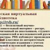 Русской виртуальной библиотекой собираются средства на развитие проектов