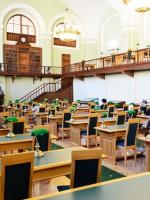 Реставрация Ленинского зала РНБ претендует на «Золотого Трезини»