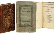 На аукционе Christie's за £467 тыс продано первое издание «Евгения Онегина»