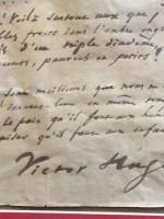 Во Франции найдена рукопись забытого стихотворения Гюго