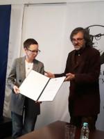 Гузели Яхиной вручили премию имени Иво Андрича