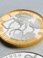 На юбилейной монете в честь Герберта Уэллса поклонники обнаружили ошибки