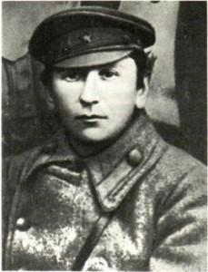 Ярослав Гашек в чине комиссара Красной Армии