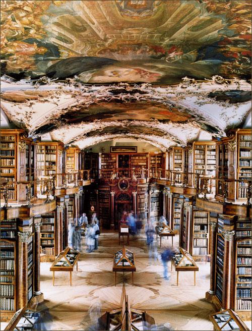 Библиотека аббатства Св.Галена, Швейцария