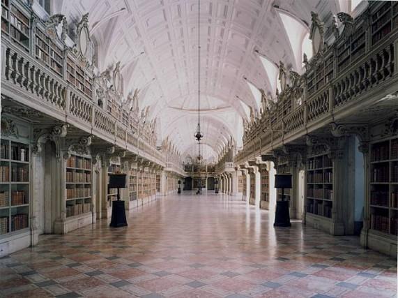библиотека дворца Святой Марты, Португалия