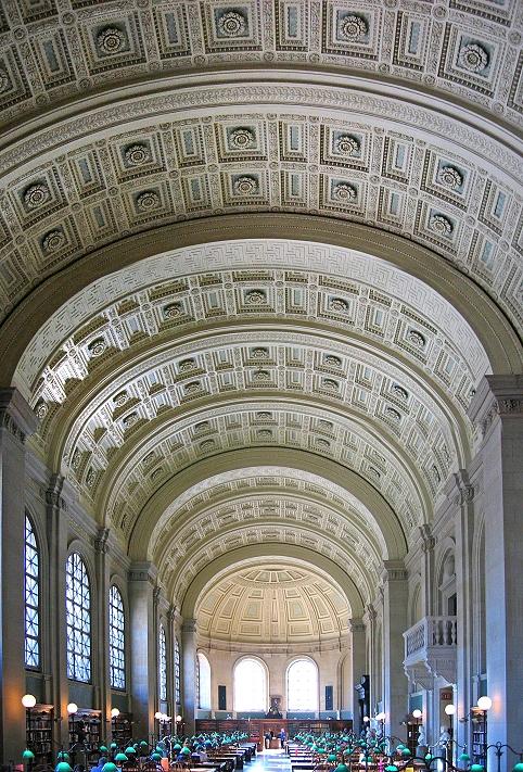 Бостонская публичная библиотека