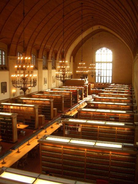 """""""Итака"""", библиотека Корнелльской юридической школы, США"""