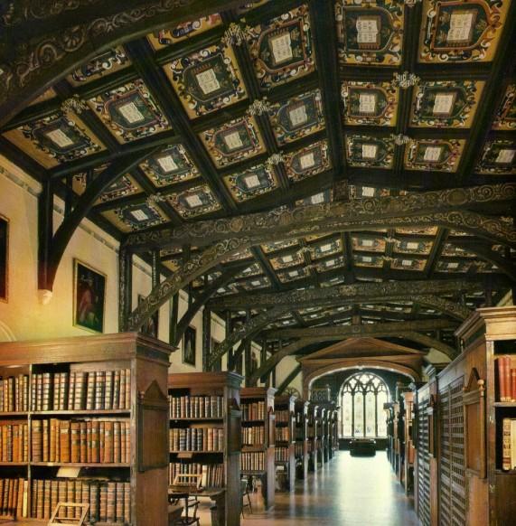 Библиотека герцога Хэмфри, Оксфорд (Англия)