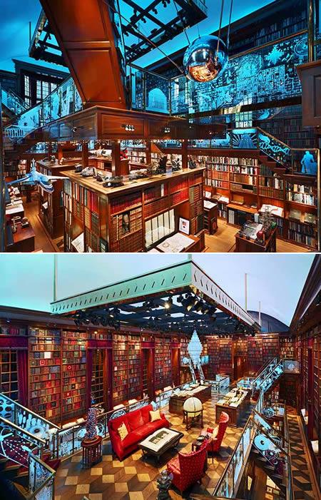 частная библиотека Джея Уокера, Новая Англия, США