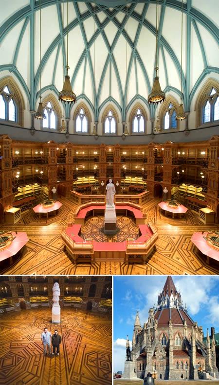 Библиотека Парламента (Оттава, Канада)