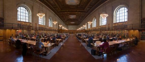 Нью-Йоркская публичная библиотека, США