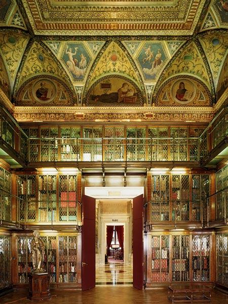 библиотека Pierpont Morgan, Нью-Йорк (США)