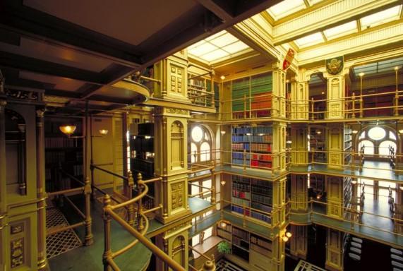 Библиотека Университета Джорджтаун, США
