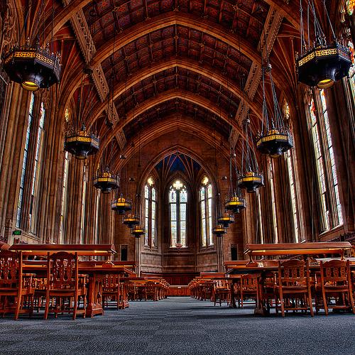 Библиотека Suzzallo, США