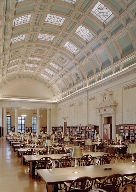 Widener, библиотека Гарварда (США)
