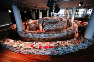 книжный лабиринт в лондоне