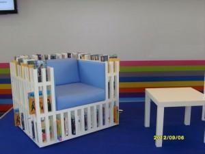 Еще кресла-книжные полки