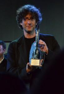 """Нил Гейман на церемонии вручения """"Хьюго"""" 2012"""