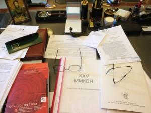 Рабочий стол Михаила Сеславинского