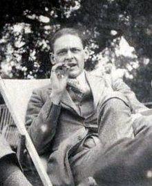Томас Стернз Элиот, 1923 год