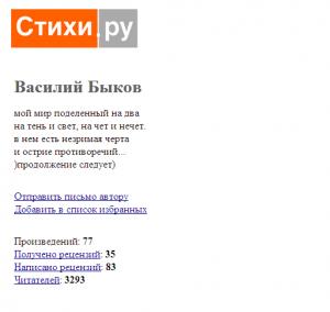 Вероятный исходник на сайте Стихи.ру