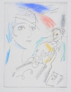 "Александр Траугот, ""Вторник Мэри"" - иллюстрация к пьесе Михаила Кузмина"