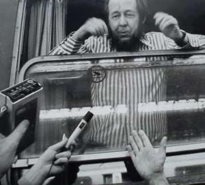 Александр Солженицын 1974 год