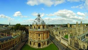 Бодлианская библиотека в Оксфорде