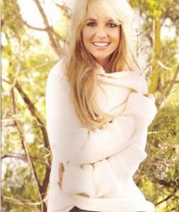 Бритни Спирс - фото для журнала Glamour