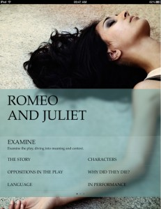 Ромео и Джульетта для Explore Shakespeare