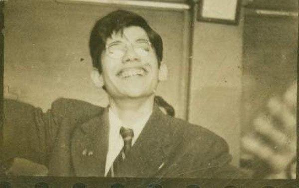 школьник Аллен Гинзберг 1942 г.