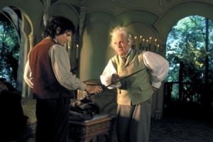 Бильбо и Фродо в Властелине колец Питера Джексона