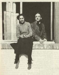 Поль Элюар и Гала, санаторий, 1913 г.