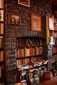 книжный камин - книги греют лучше огня