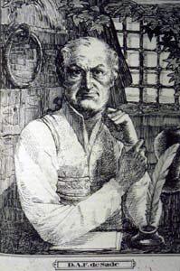 портрет маркиза де Сада
