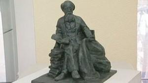 проект памятника Диккенсу работы скульптора Мартина Дженнингса