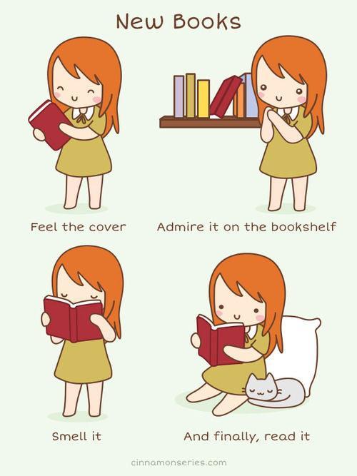 что делать с новой книгой?