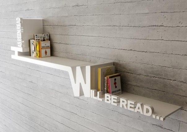 """""""уже прочитано"""" и """"буду читать"""" - на одной полке"""
