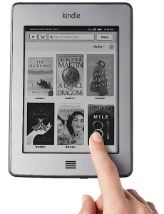 Kindle 6 e ink display