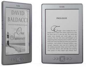 Электронная книга amazon kindle 3g